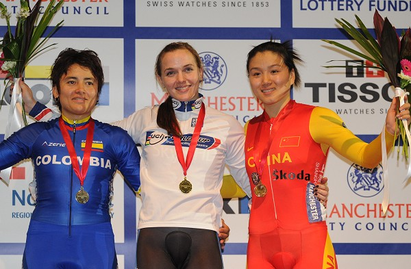 Diana Garcia, Finalist in UCI World Cup