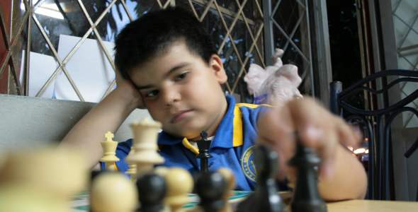 Jorian Jared Acosta Cubides best U-7 chess player in the world