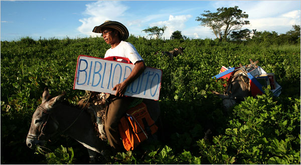 Luis Soriano and his Biblioburro