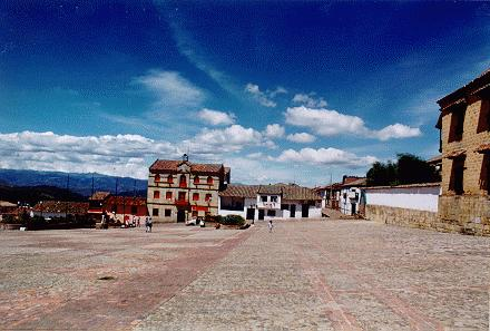 Mongui, Boyaca, another beautiful town on the Andean Cordillera